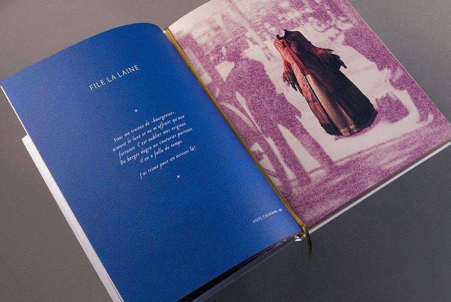 Musée de la Mode, intérieur du livre